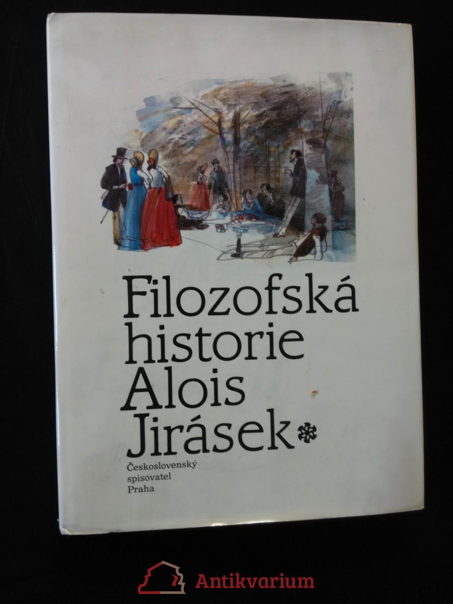 Filozofská historie (A4, 222 s., ob a il. V. Tesař, typo O. Hlavsa)