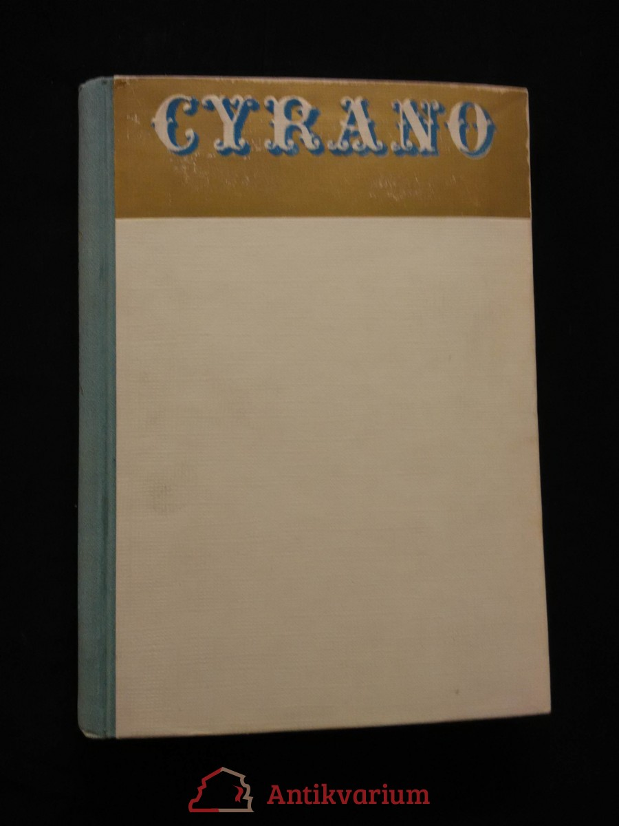 Cyrano z Bergeracu (A4, Oppl, 230 s., přel. J. Vrchlický, úprava J. Horřejší)