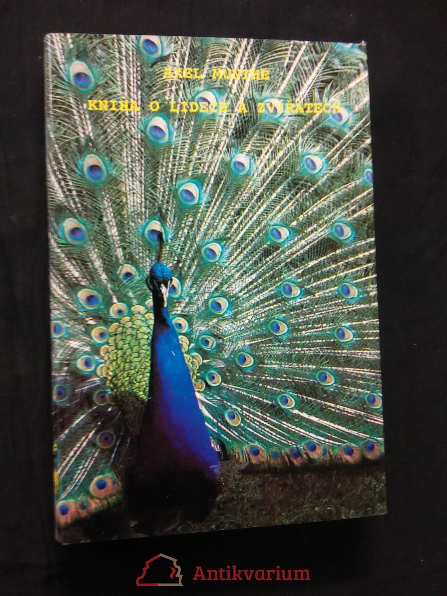 Kniha o lidech a zvířatech (Ocpl, 160 s., přel. M. Krausová-Lesná)