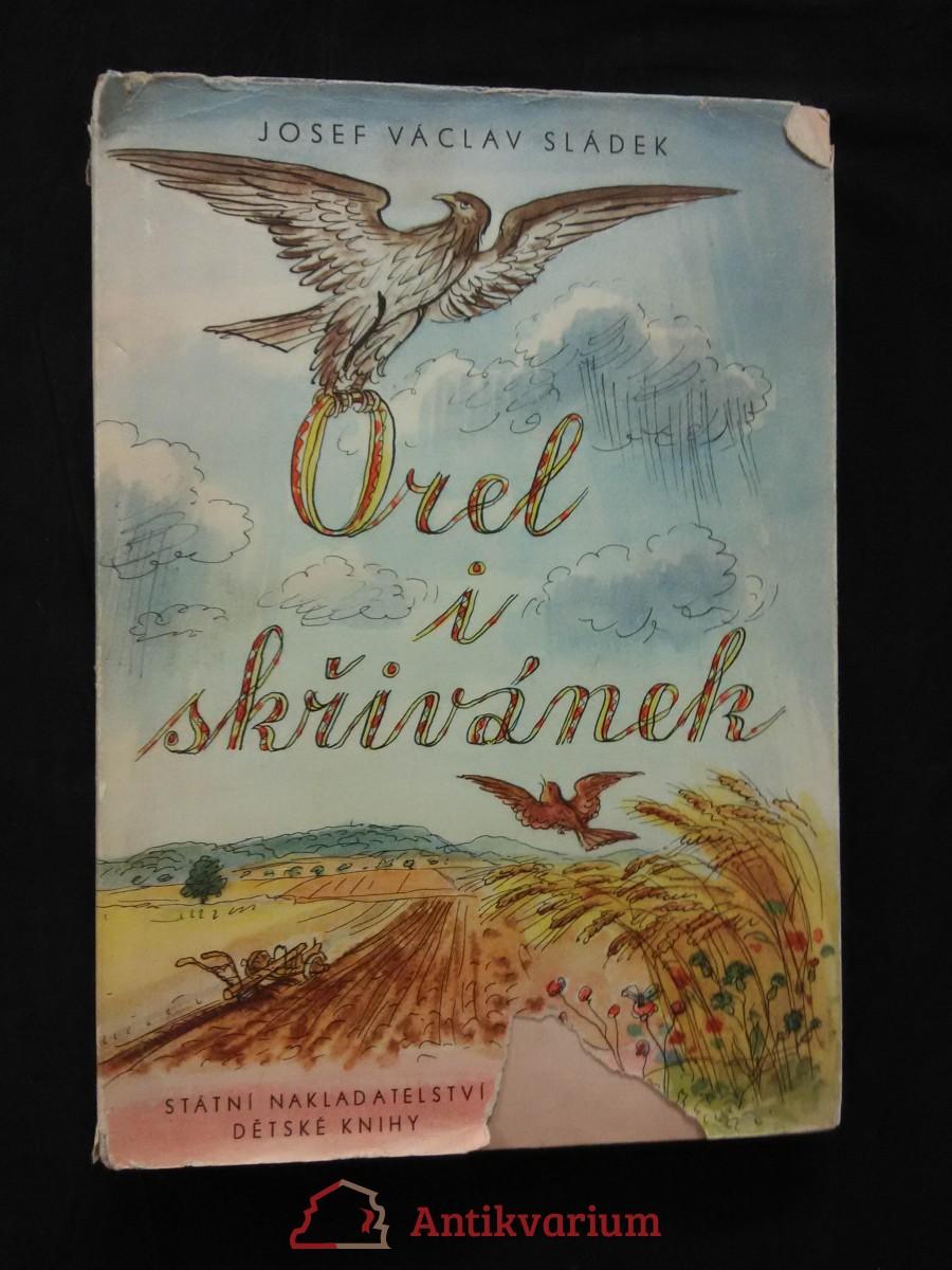 Orel i skřivánek (A4, Oppl, 120 s.,  ob a il. Václav Karel)