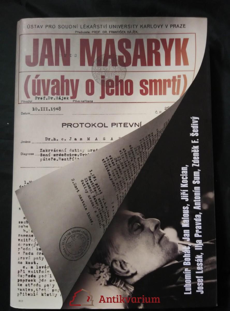 Jan Masaryk - úvahy o jeho smrti (A4, pv, 384 s.)