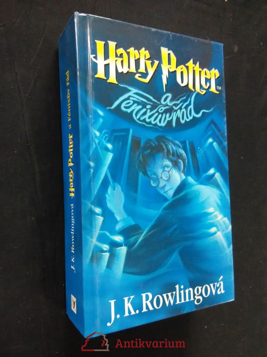 Harry Potter a Fénixův řád (lam, 800 s.)