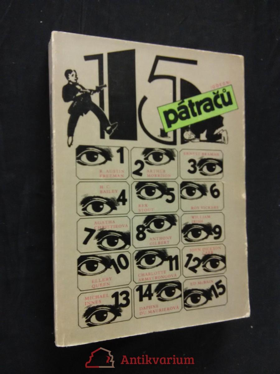 antikvární kniha 15 pátračů, 1987