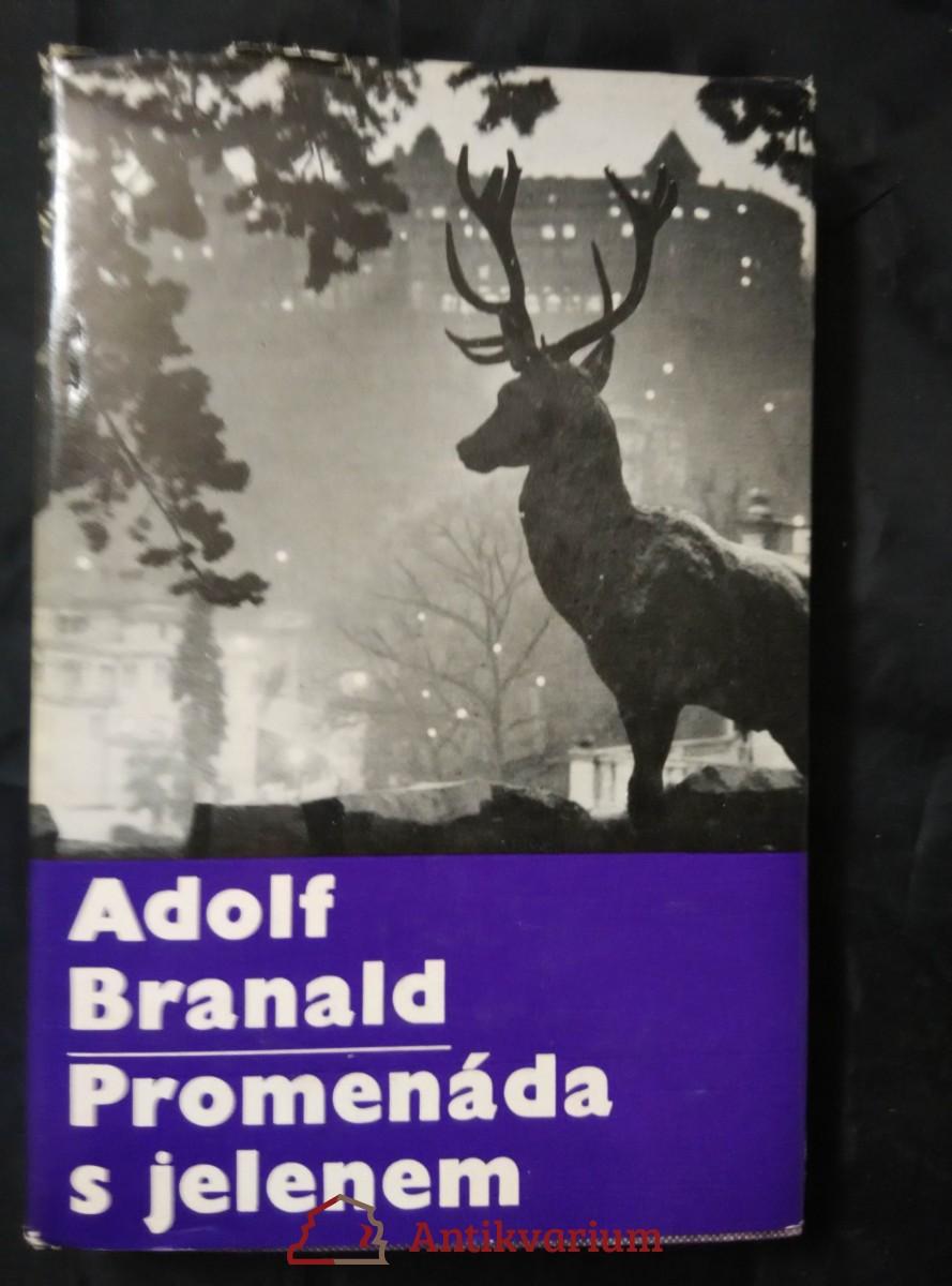 antikvární kniha Promenáda s jelenem (2. vyd., foto V. Radechovský), 1966