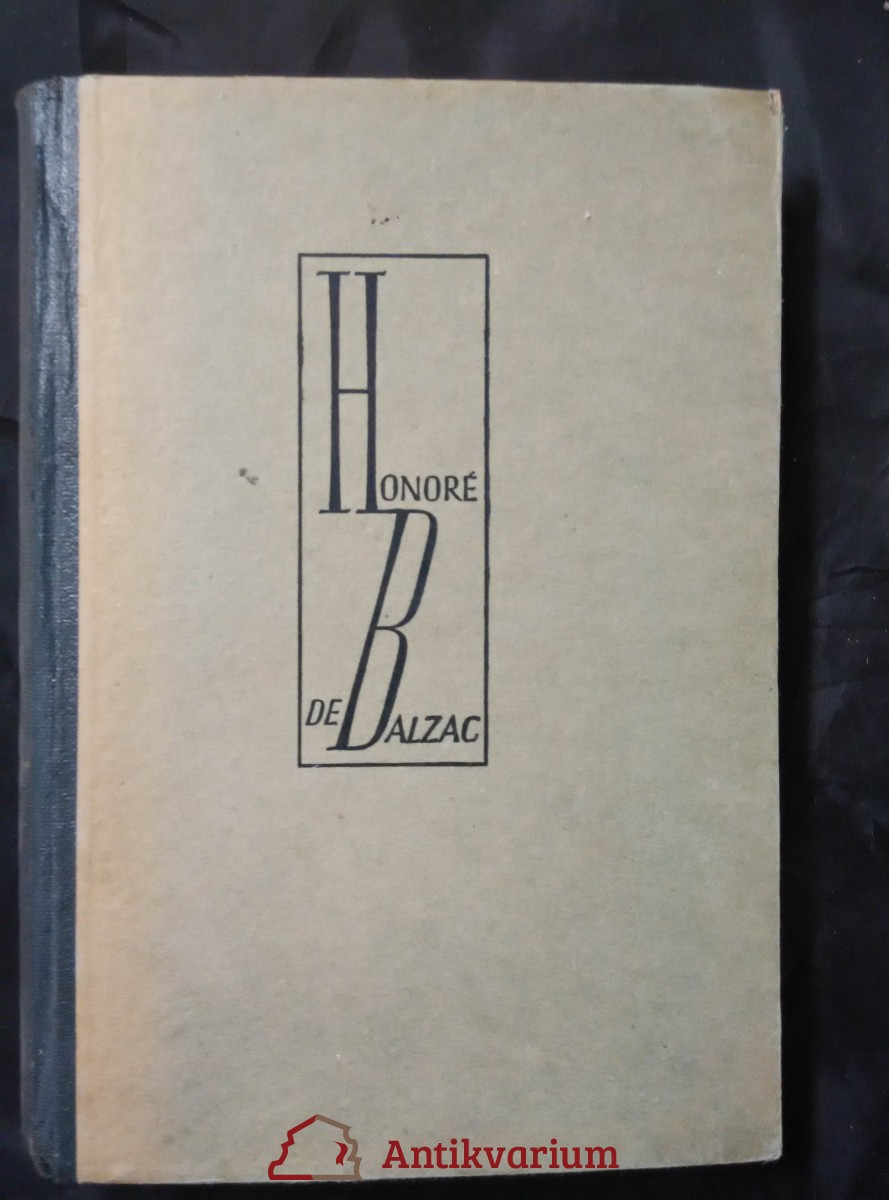 antikvární kniha Firma Nucingen (přel. J. Guth), 1926