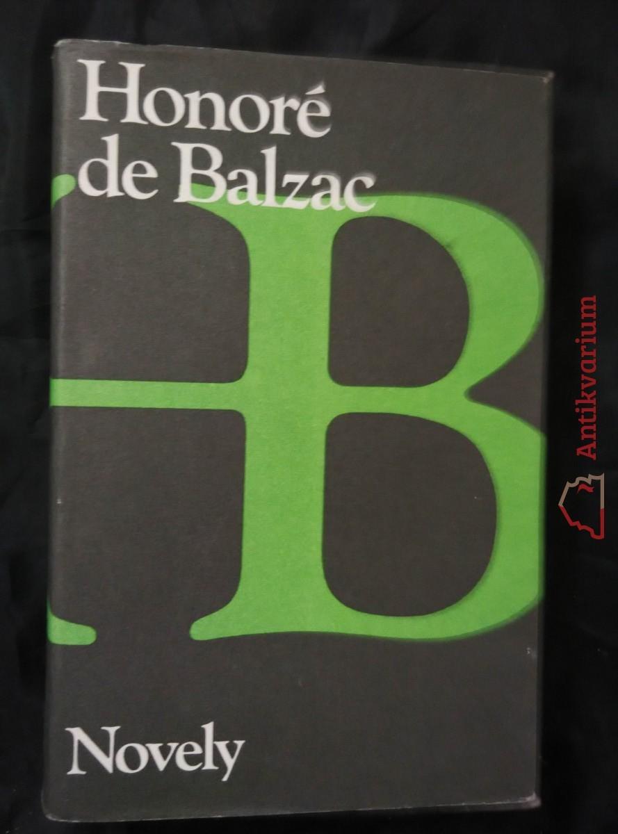 antikvární kniha Novely, 1986