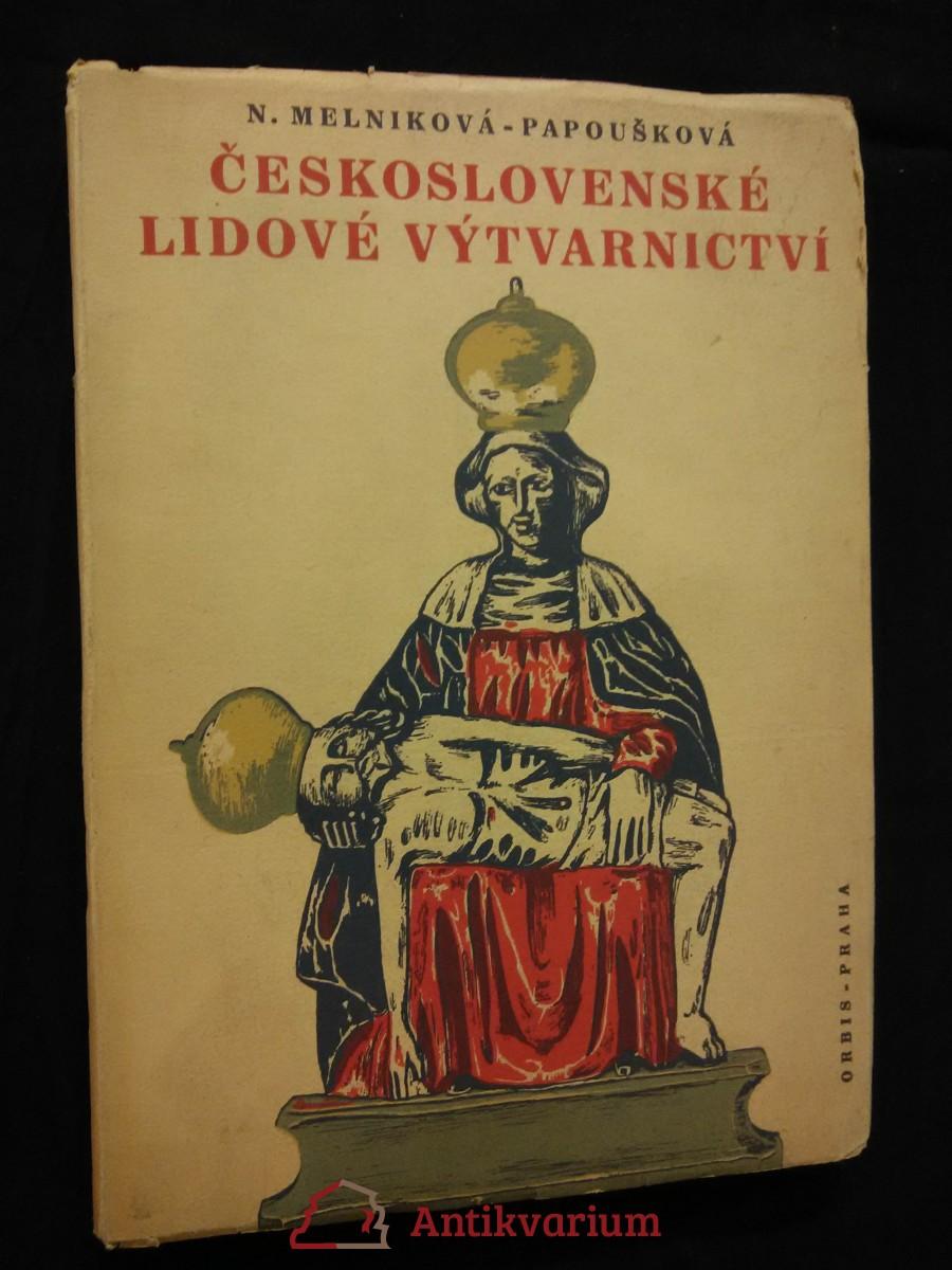 Československé lidové výtvarnictví (Obr, 120 s., +obr.příl.)