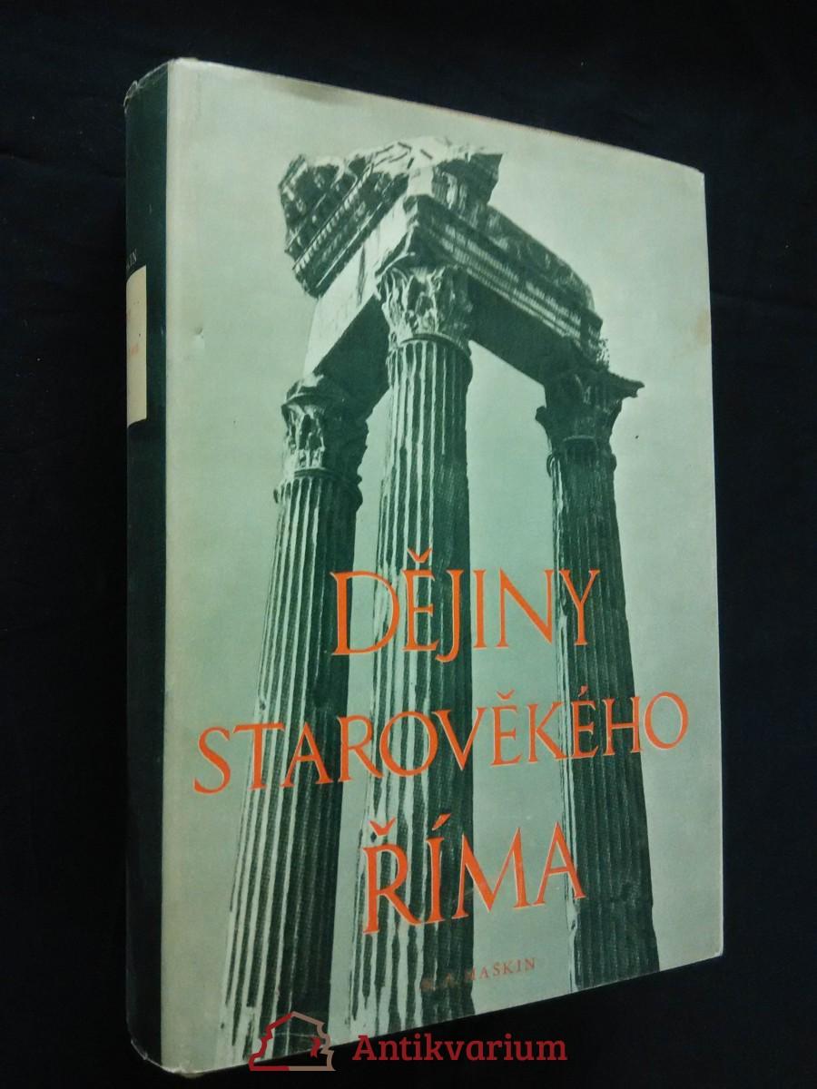 Dějiny starověkého Říma (Ocpl, 720 s.)