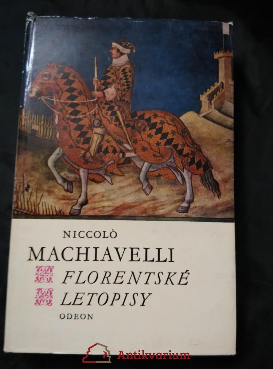 Florentské letopisy (Ocpl, 504 s.)