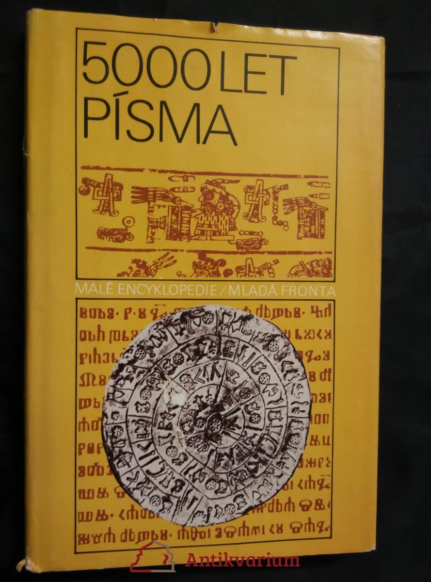5000 let písma (Ocpl, 151 s.)