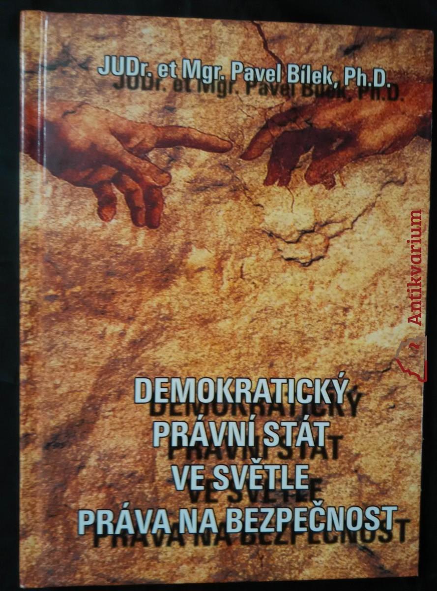 antikvární kniha Demokratický právní stát ve světle práva na bezpečnost, 2004