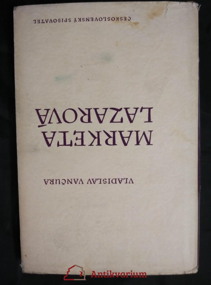 Markéta Lazarová (Ocpl, 172 s., ob a typo J. Hanzl)