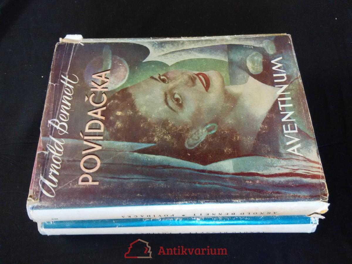 antikvární kniha Povídačka I, II (Oppl, ob. a front. J. Veris), 1948