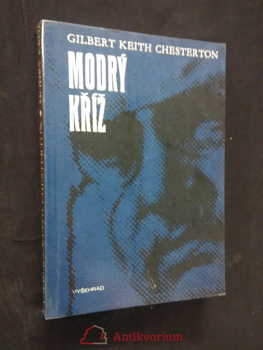 antikvární kniha Modrý kříž, 1989