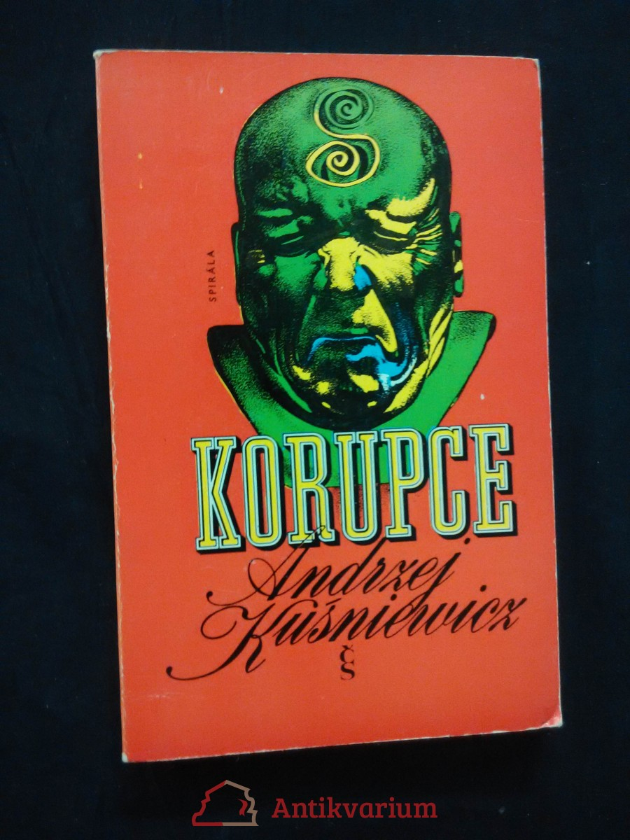 antikvární kniha Korupce, 1974