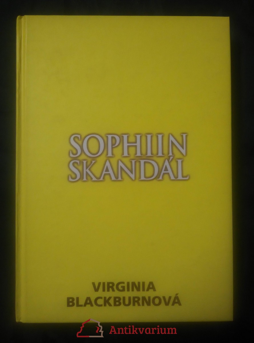 Sophiin skandál (pv, 218 s., bez přebalu)