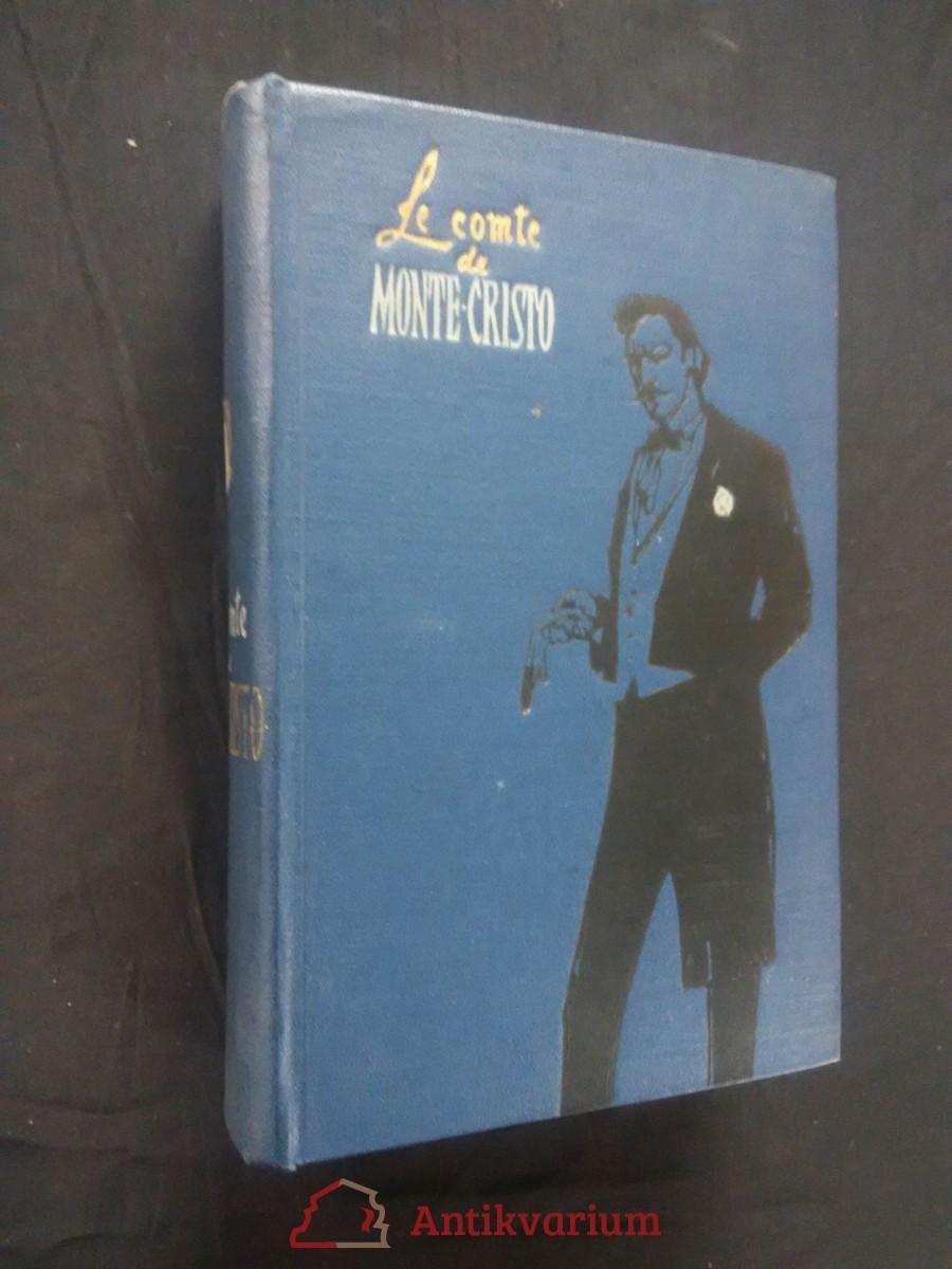antikvární kniha Le comte Monte-Christo II. díl, 1957