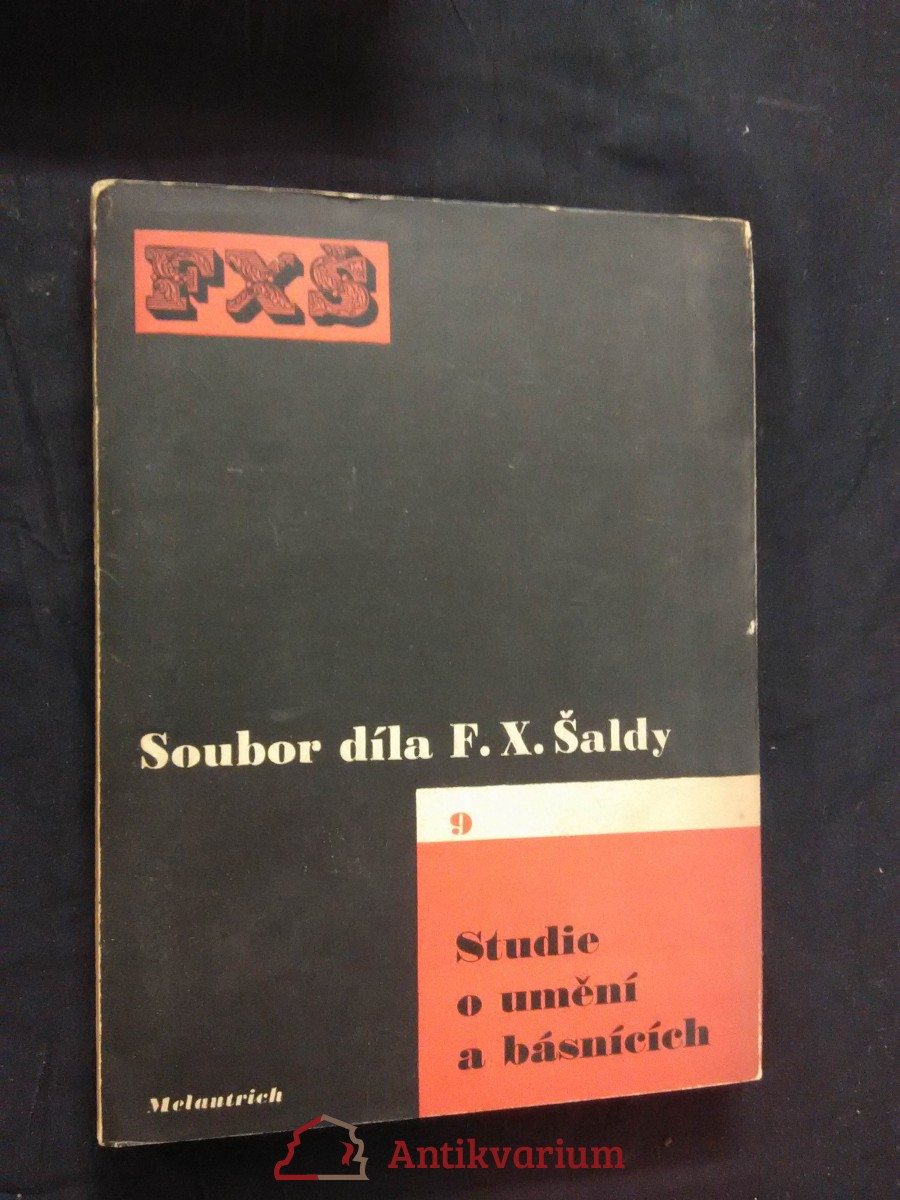 Soubor díla 9 - Studie o umění a básnících (Oppl, 126 s., ob a typo K. Teige)