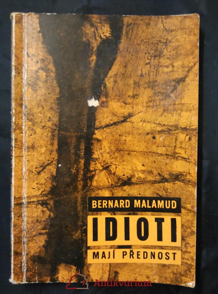 Idioti mají přednost (Obr, 124 s.)
