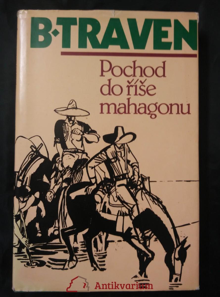 antikvární kniha Pochod do říše mahagonu, 1982