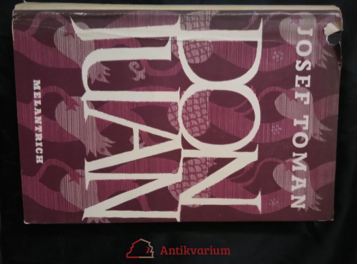 Don Juan (ob.+ frontispice F. Tichý)
