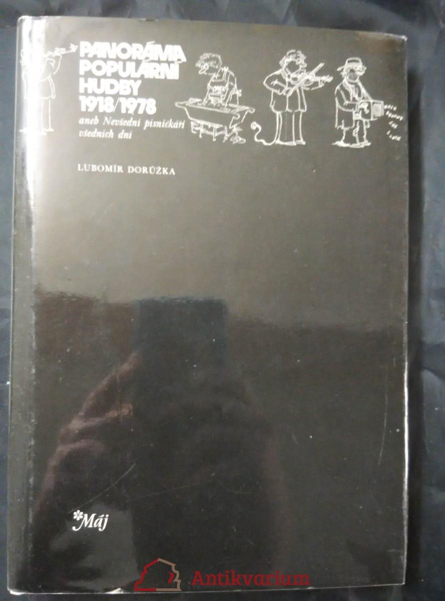 Panoráma populární hudby 1918/1978 aneb Nevšení písničkáři všední dní (A4, Ocpl, 286 s.)