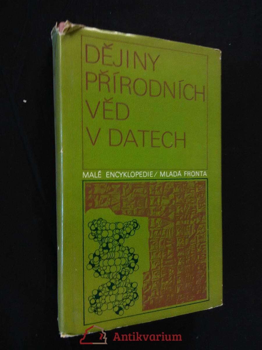 Dějiny přírodních věd v datech (Ocpl, 360 s.)