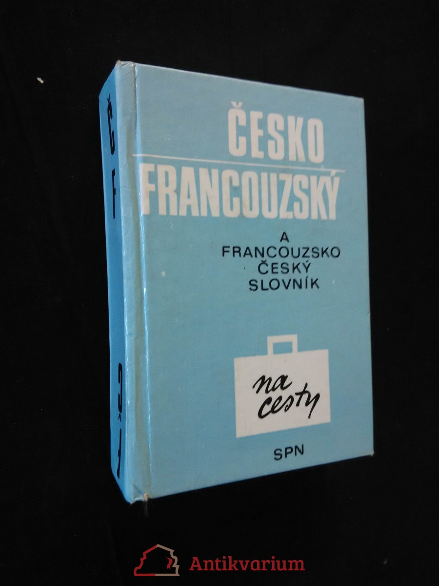 Francouzsko-český a česko-francouzský slovník na cesty (lam, 448 s.)
