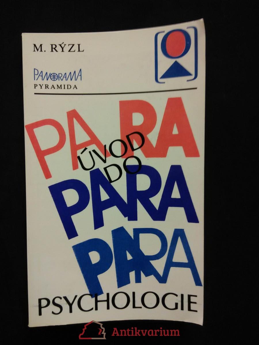 Úvod do parapsychologie (Obr, 216 s.)