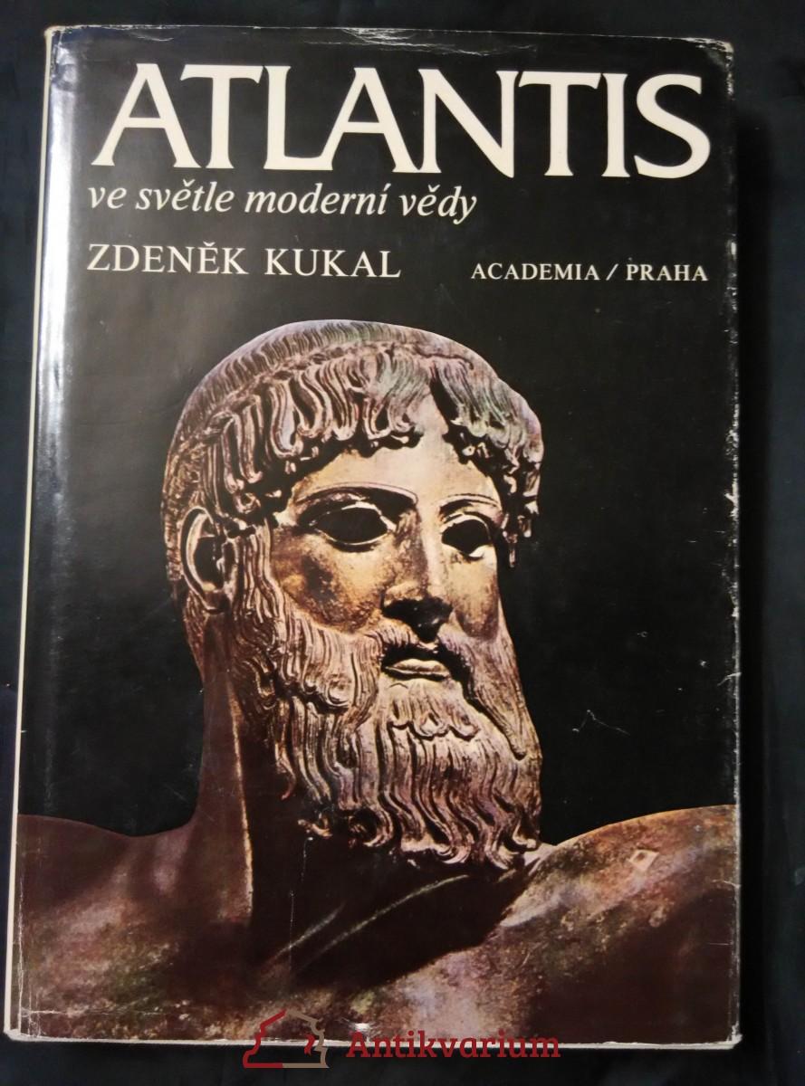 Atlantis ve světle moderní vědy (A4, Ocpl, 260 s. ,70 obr.)