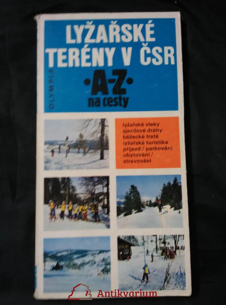 antikvární kniha Lyžařské terény v ČSR, 1981