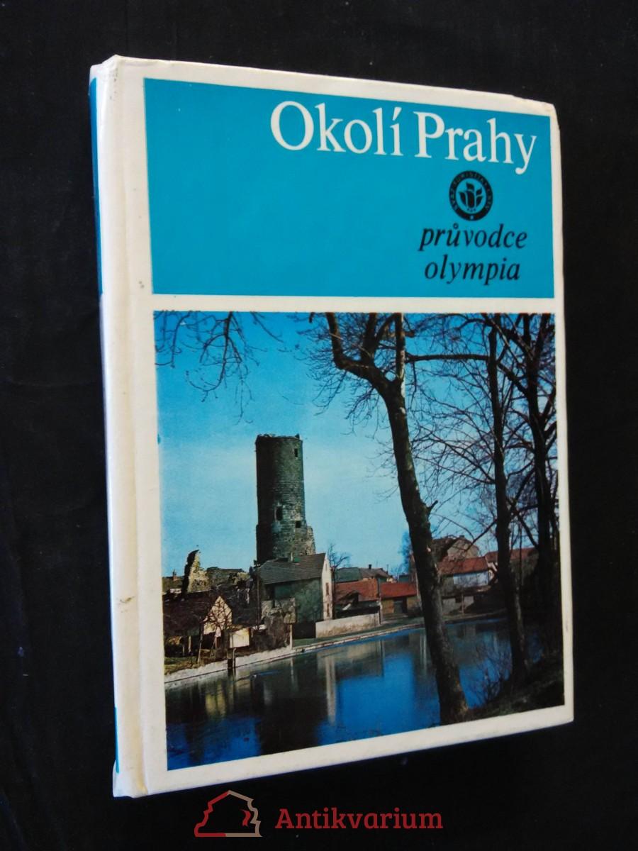 Okolí Prahy - turistický průvodce (lam, 254 s.,  přílohová mapa)