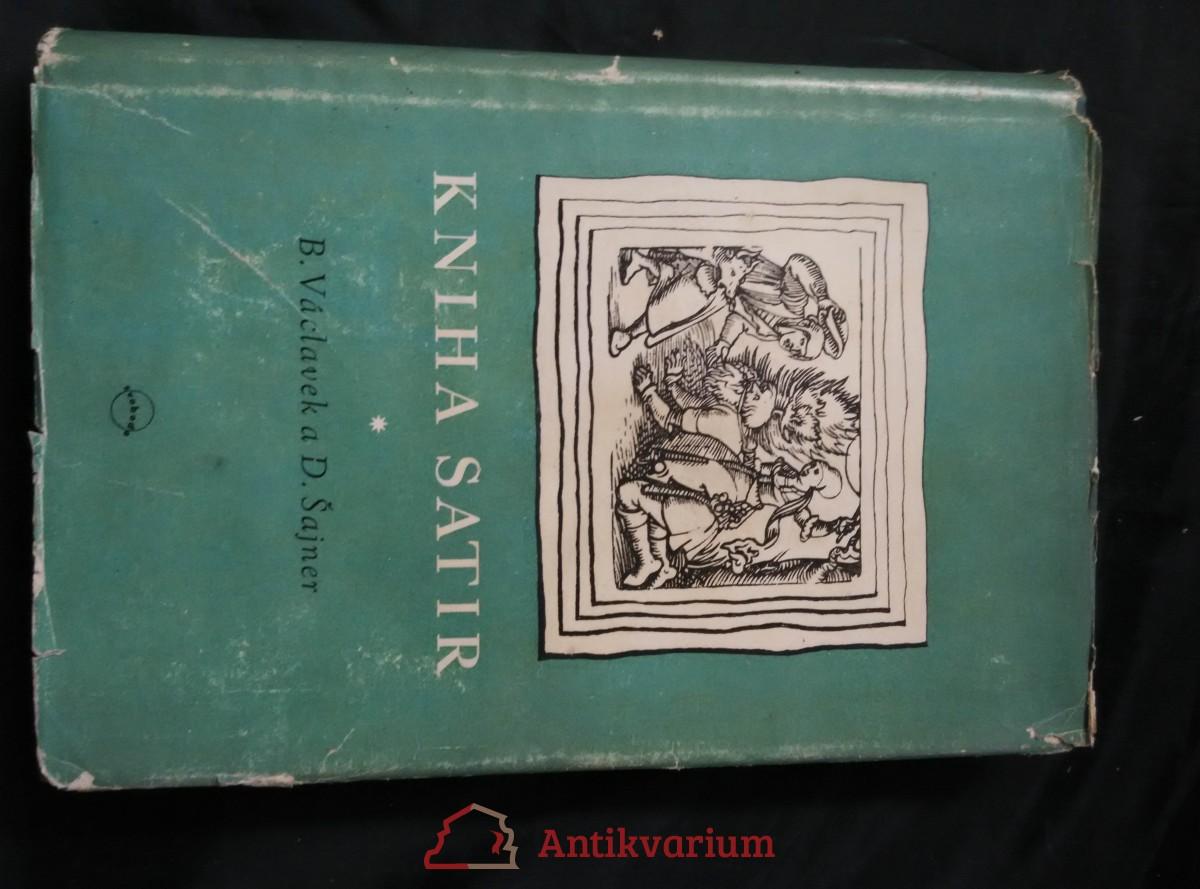 Kniha satir - od dob husitských (Ocpl, 338 s., ob a typo Z. Rossmann)