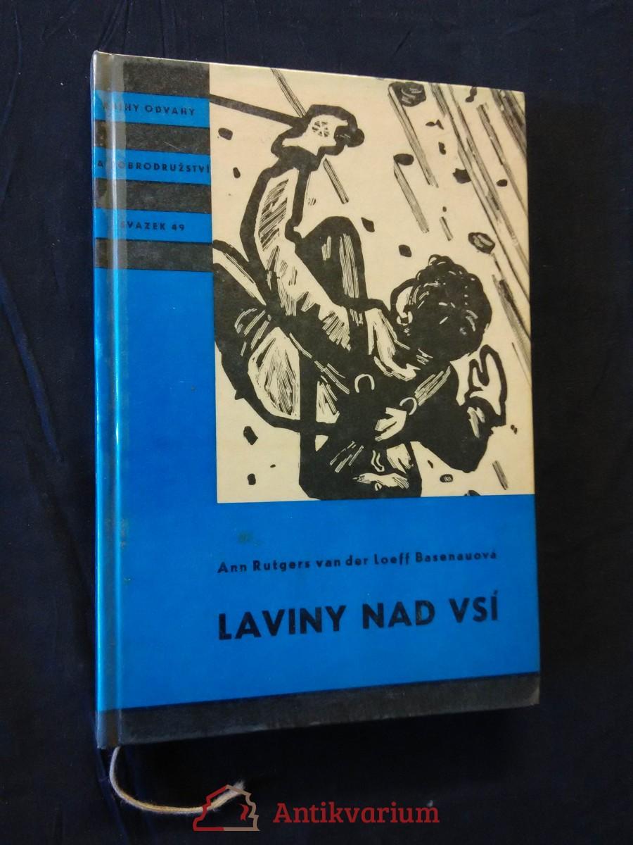 Laviny nad vsí - KOD (lam, 148 s., il. E. Hájek)