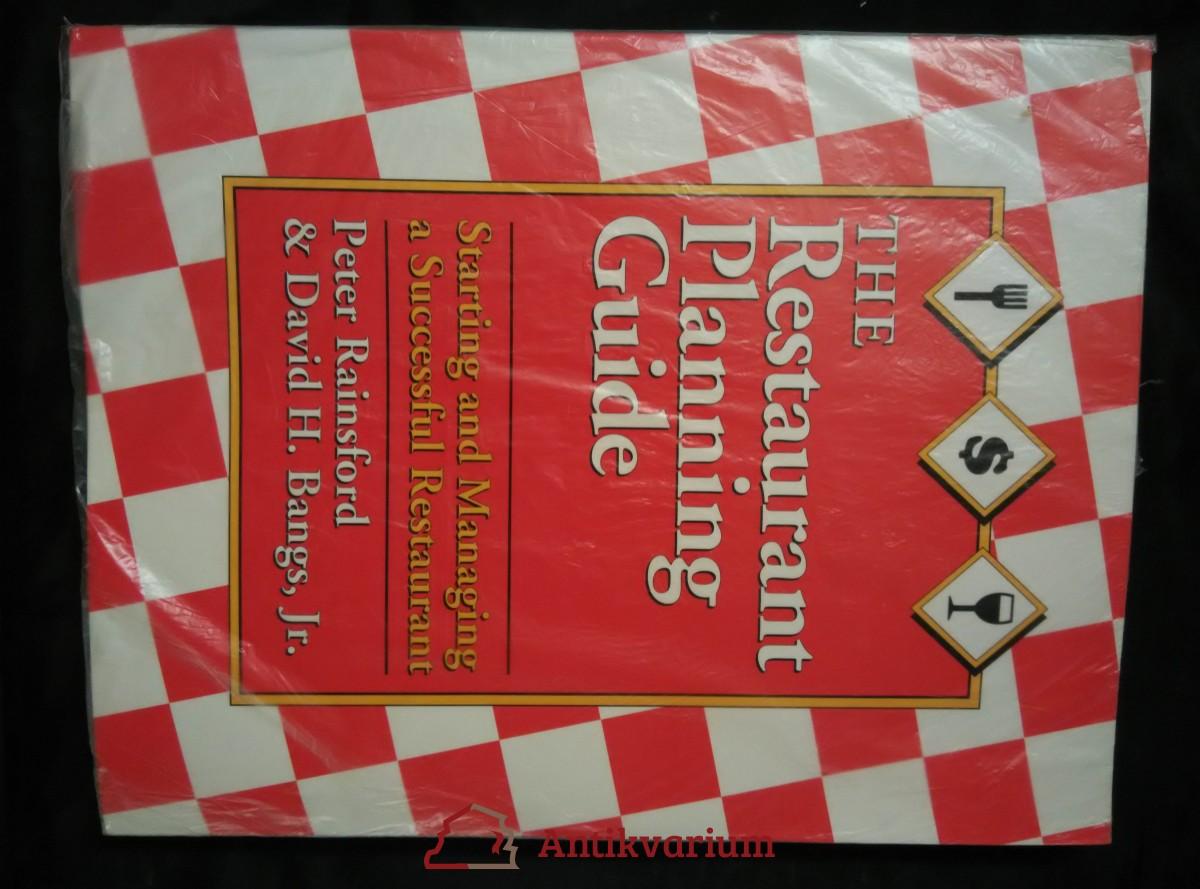 antikvární kniha The Restaurant Planning Guide (A4, Obr, 160 s.), 1992