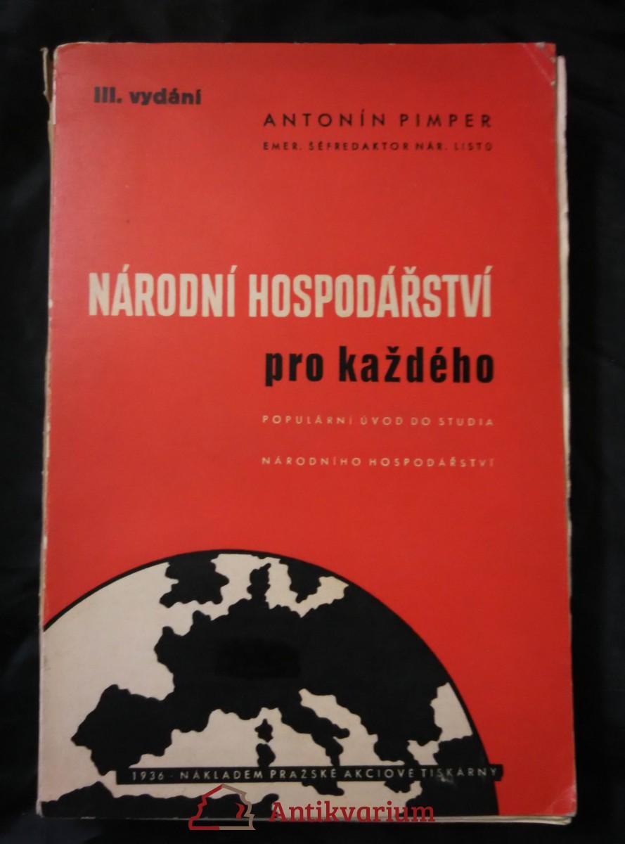 Národní hospodářství pro každého (