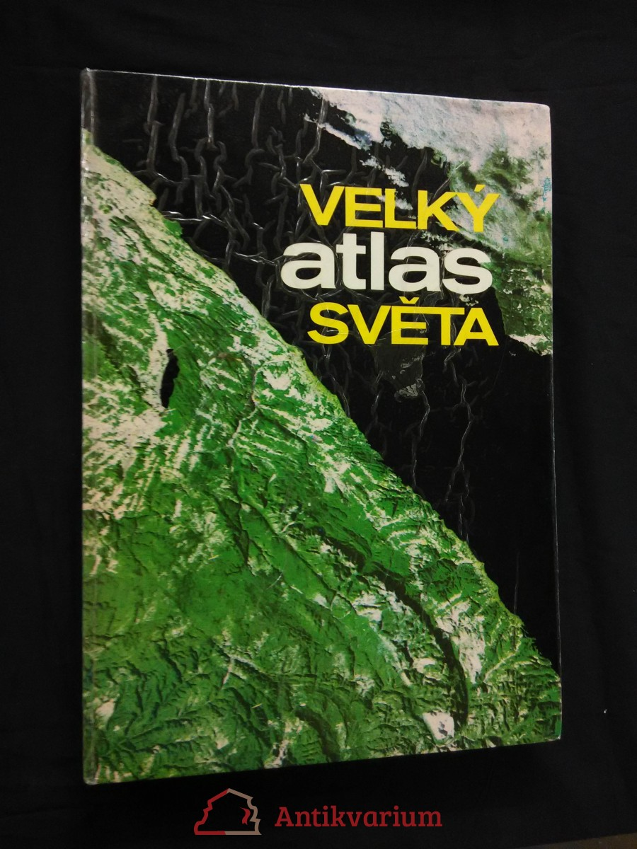 Velký atlas světa (A4, lam, 290 s.)
