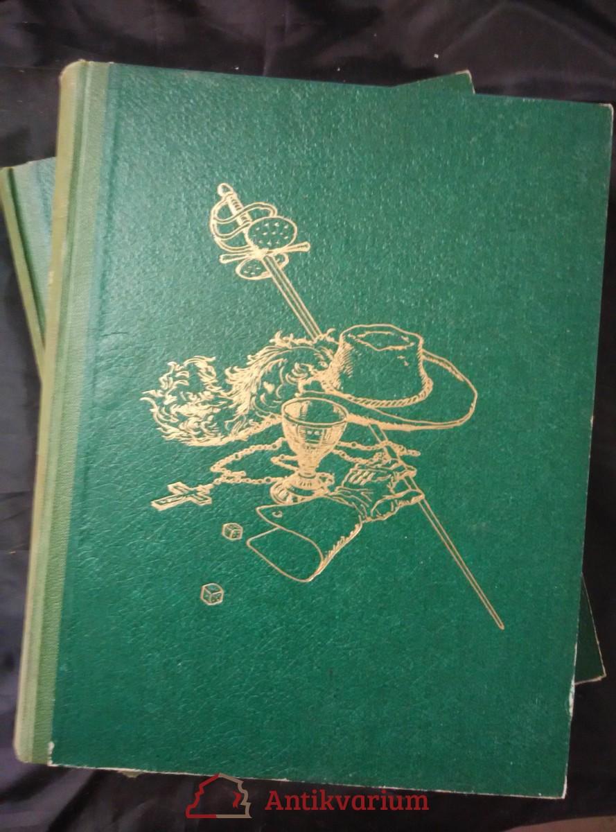 Tři mušketýři po dvaceti letech (A4 Oppl, 416 a 416 s., il. Jan Goth)