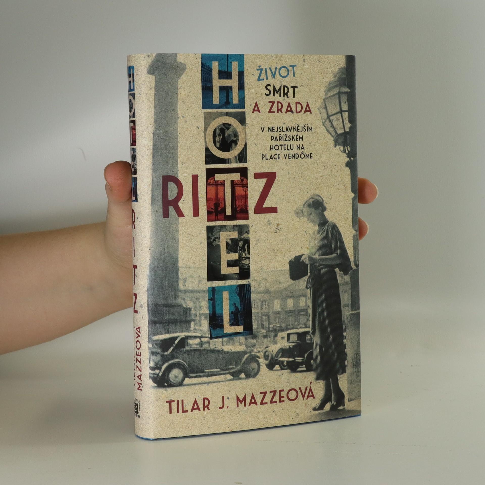 antikvární kniha Hotel Ritz, 2015