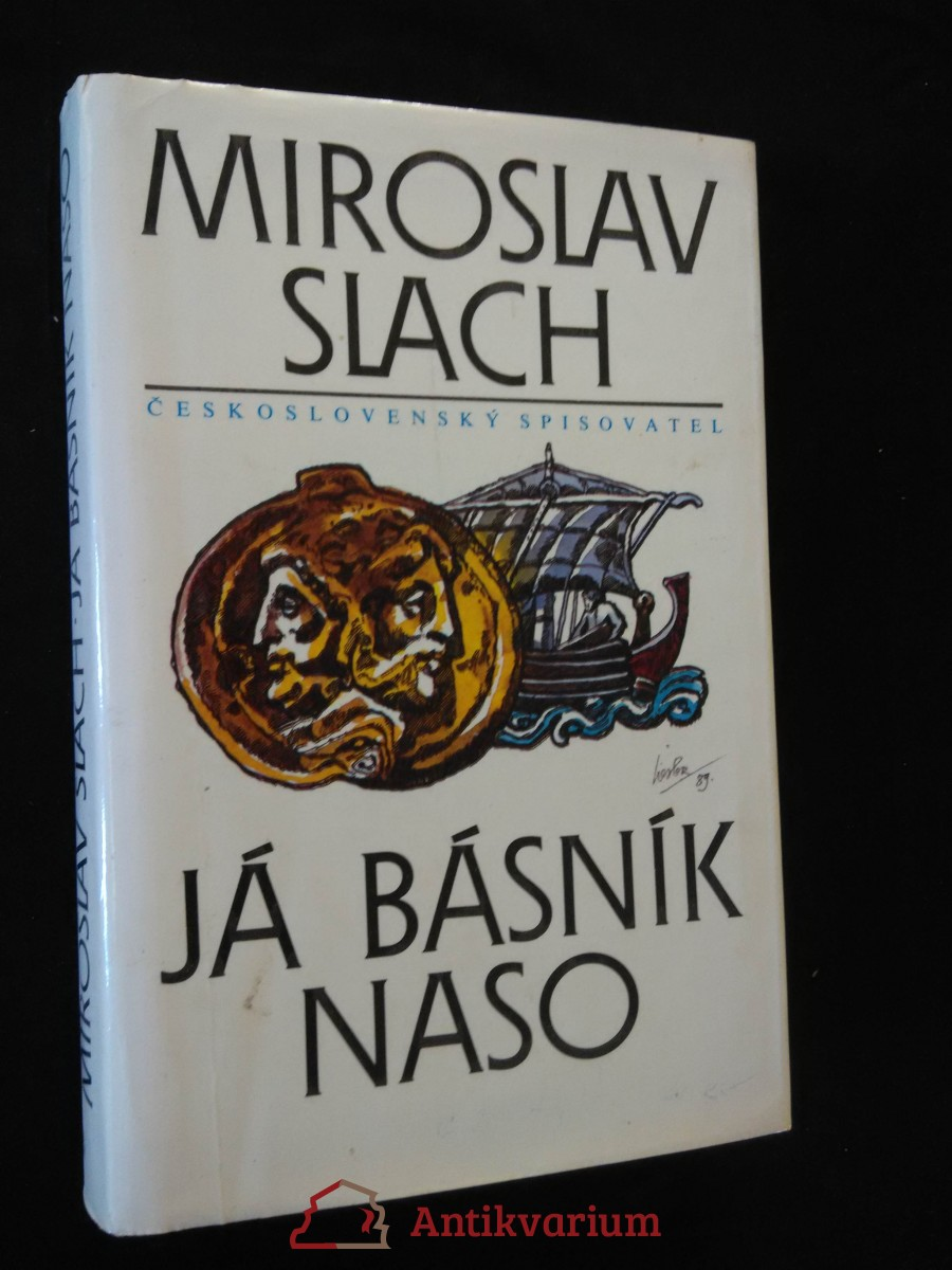 antikvární kniha Já básník Naso (il. J. Liesler), 1990
