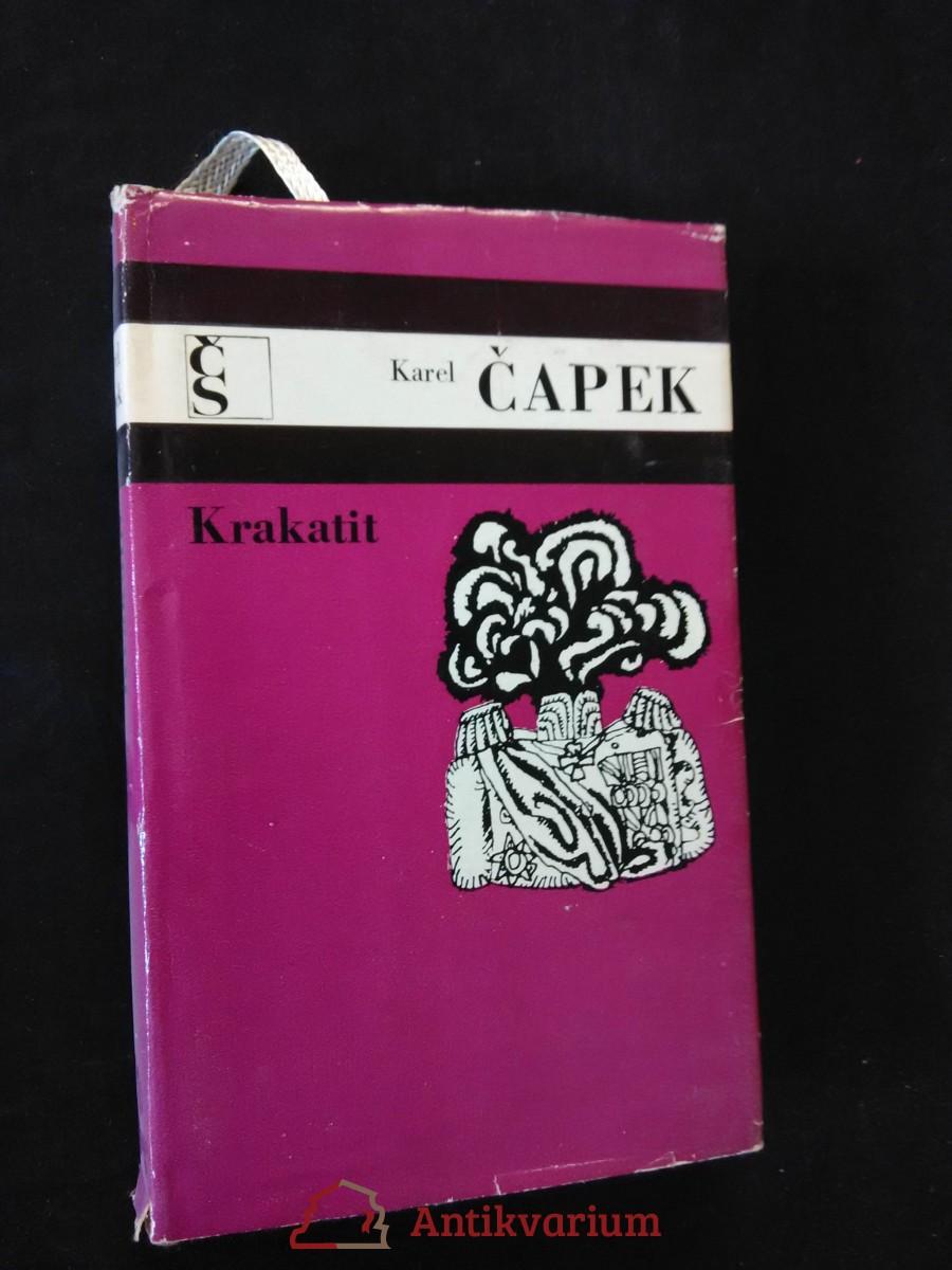 Krakatit (Ocpl, 248 s., ob, vaz, typo Z. Seydl)