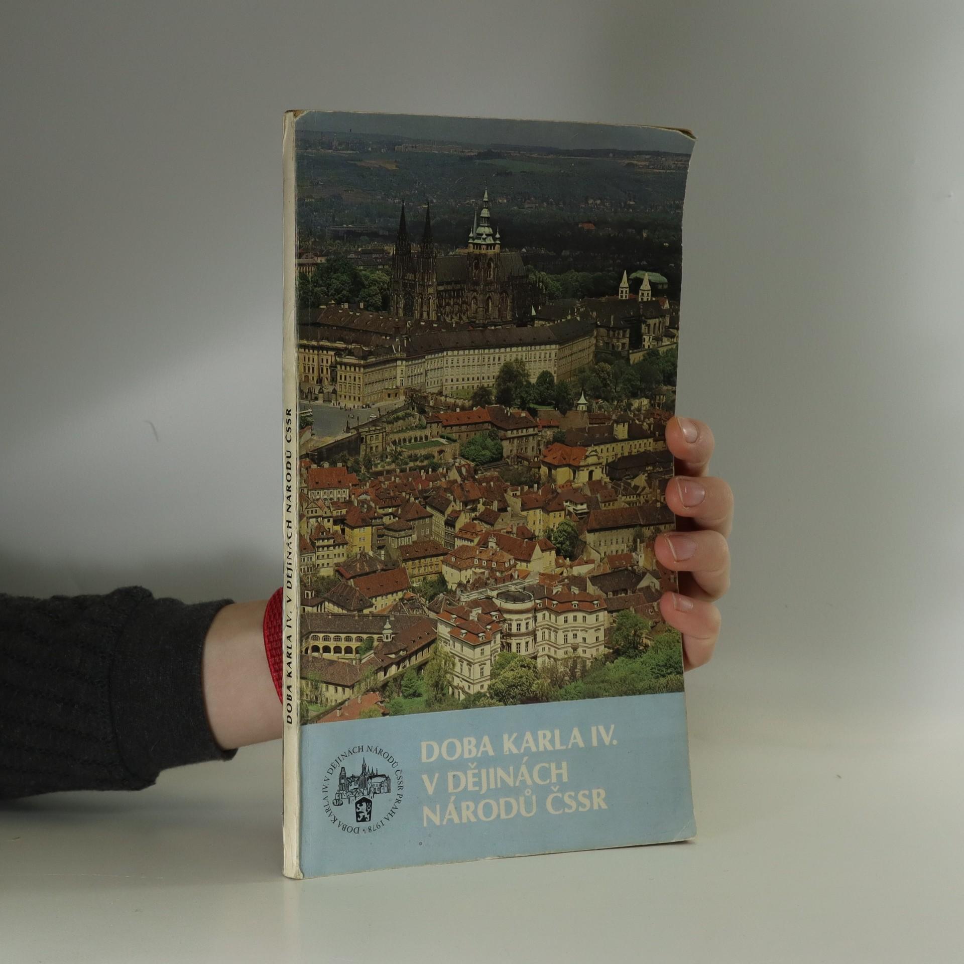 antikvární kniha Doba Karla IV. v dějinách národů ČSSR , 1978
