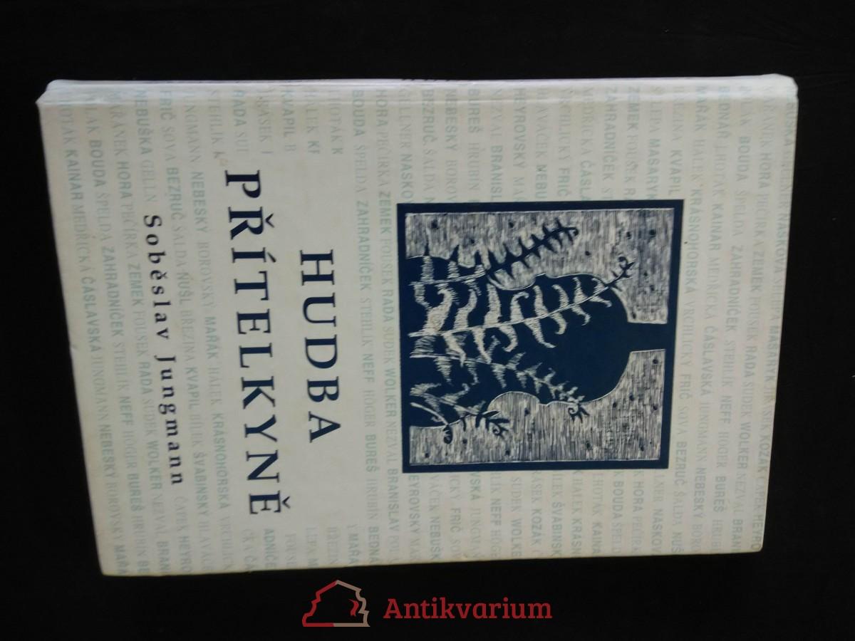 antikvární kniha Hudba přítelkyně, 1997