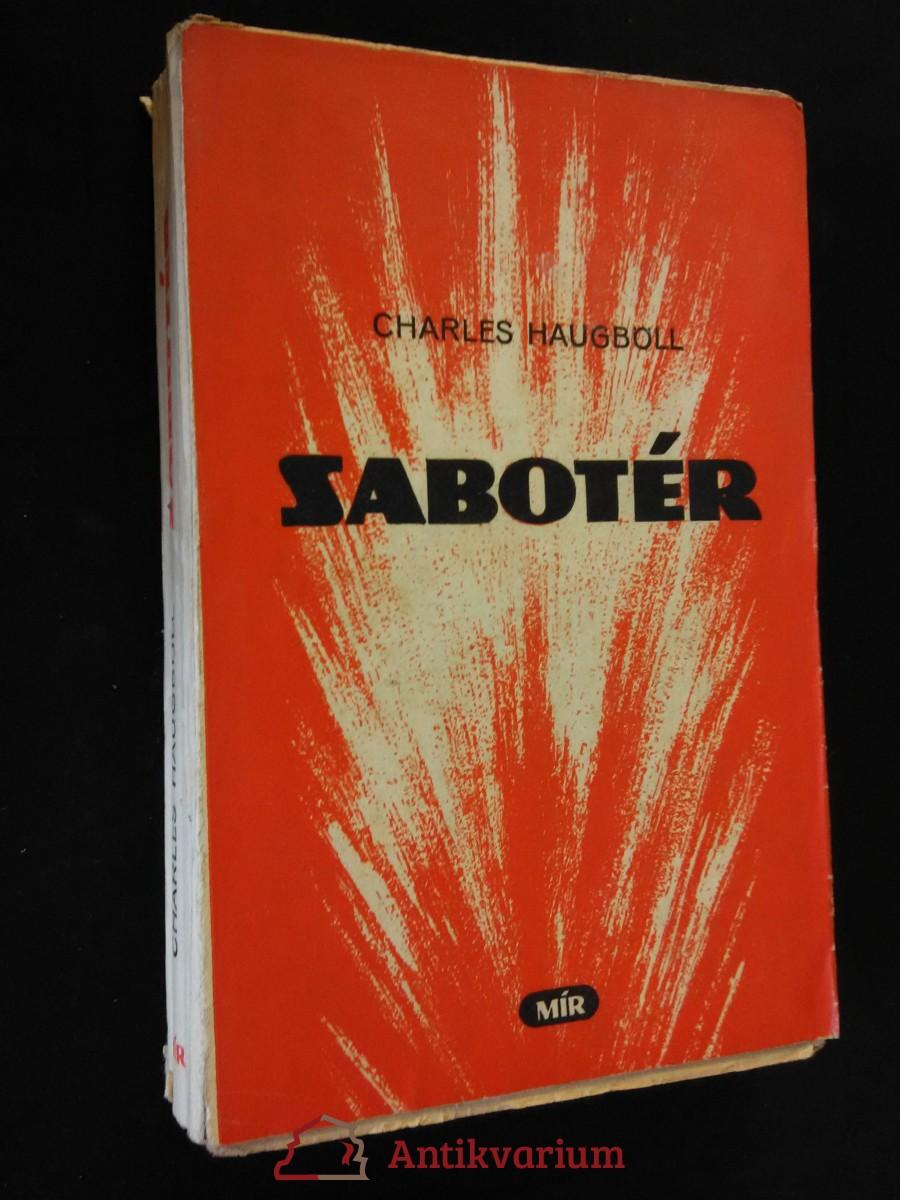 antikvární kniha Sabotér (OBr., - okupace Dánska), 1951