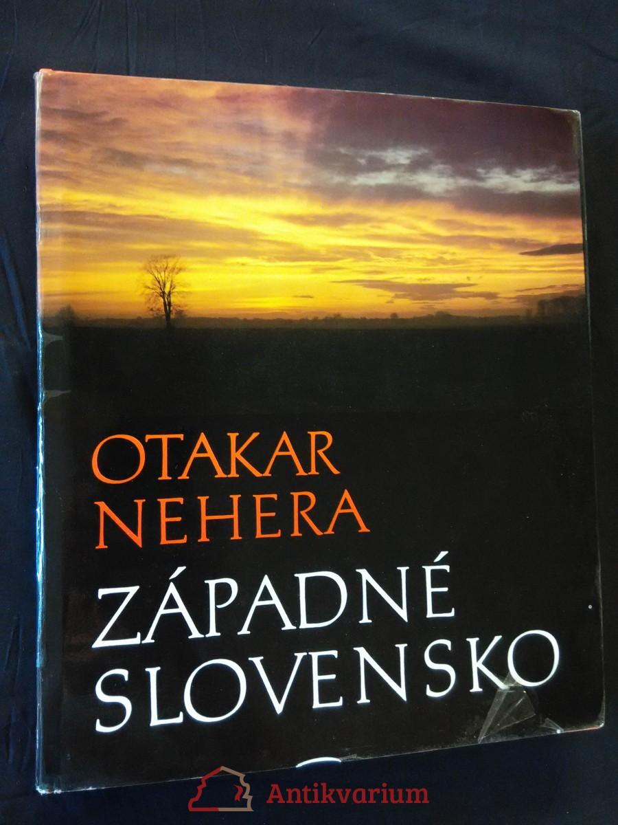 Západné Slovensko (A4, Ocpl, 176 + 96 s bar foto, 20 s. cizojaz. Texty)