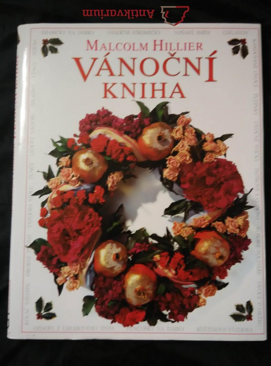 Vánoční kniha - návody na dekorace, recepty (A4, lam, 120 ., bar il a foto)