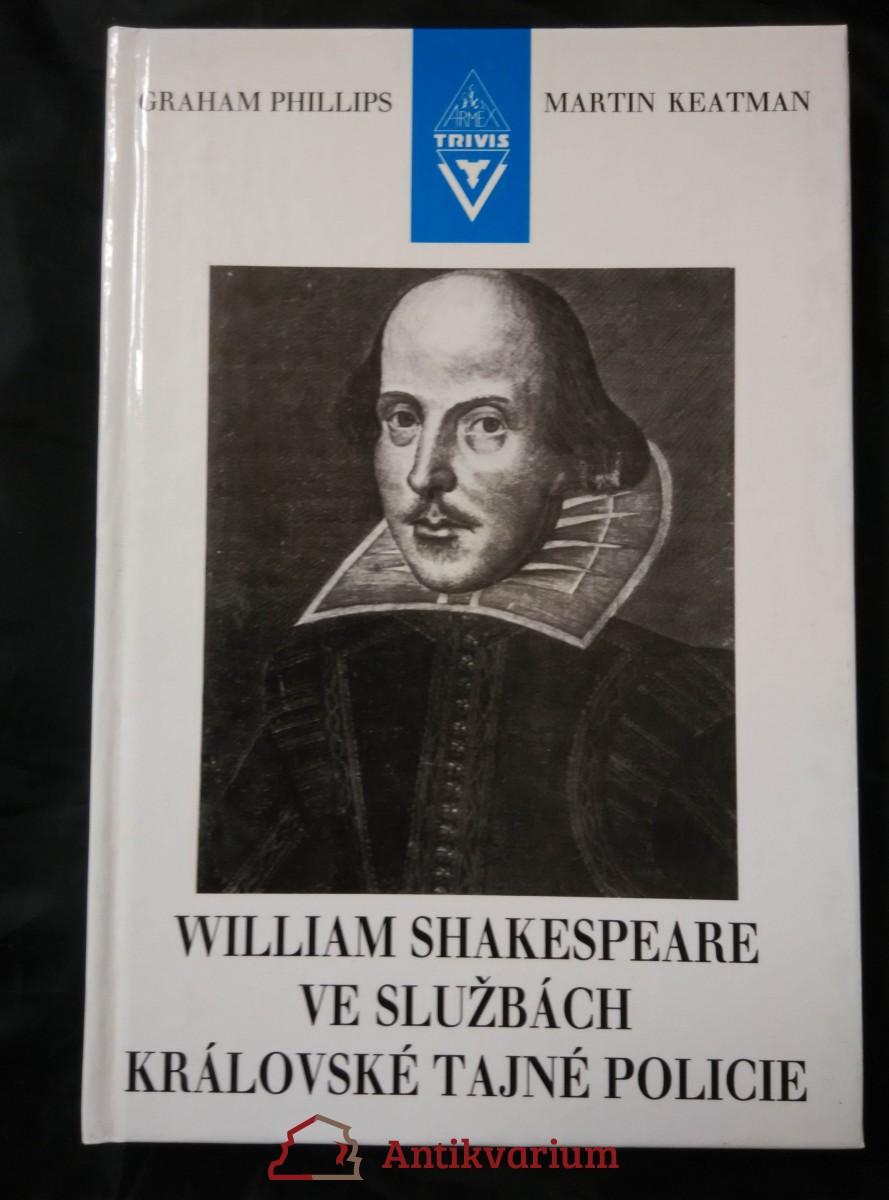 William Shakespeare ve službách královské tajné policie (lam, 188 s.)