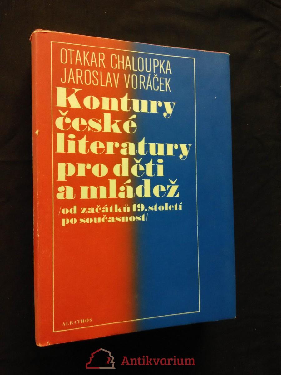 Kontury české literatury pro děti a mládež - od začátku 19,. století po současnost (A4, Ocpl, 540 s.)