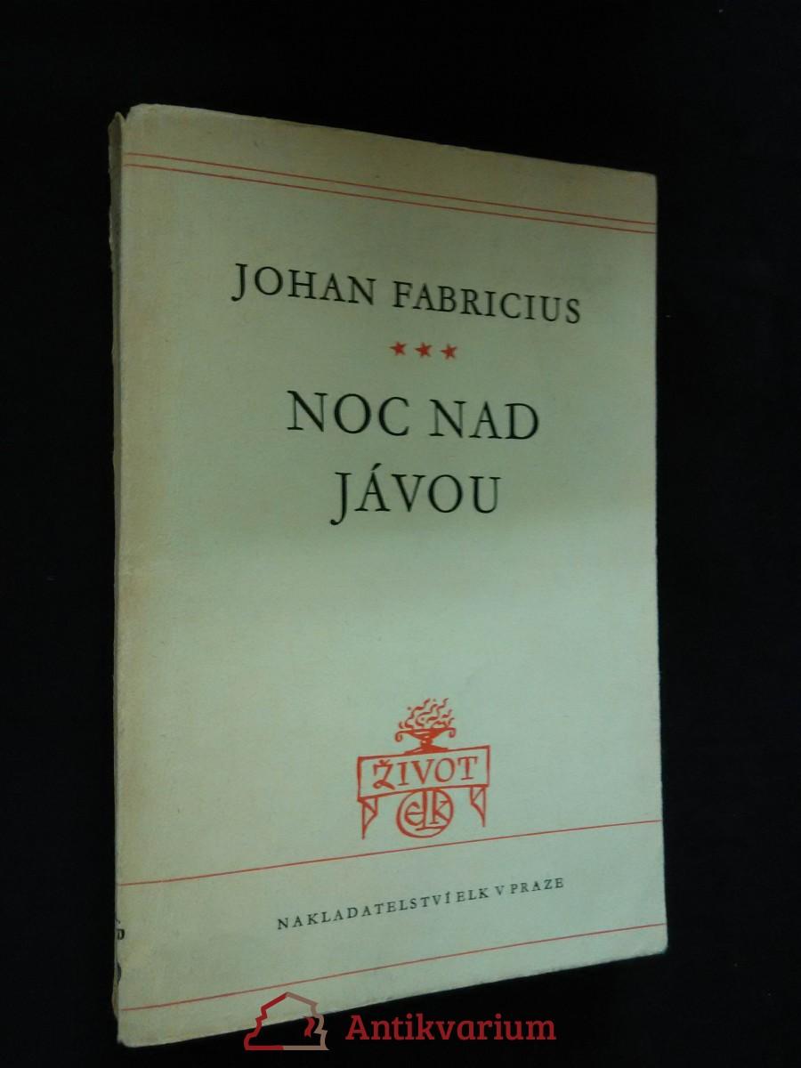 Noc nad Jávou (obr., 196 s.)