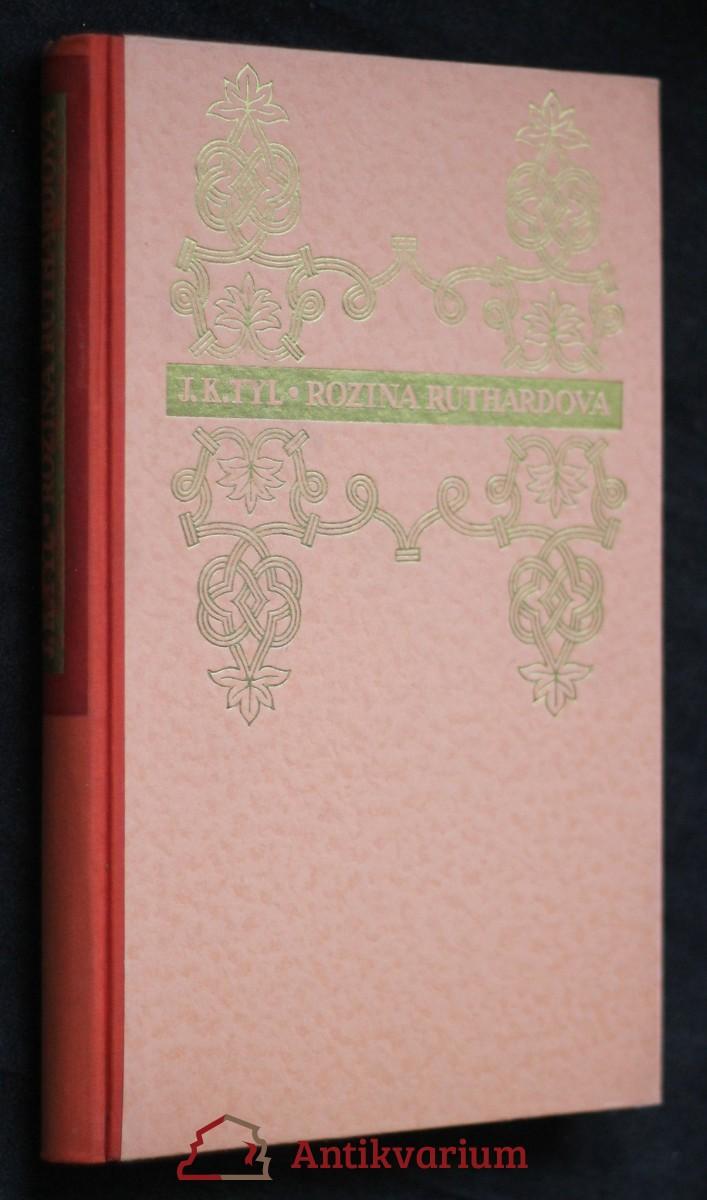 Rozina Ruthardova : povídka z dějin domácích